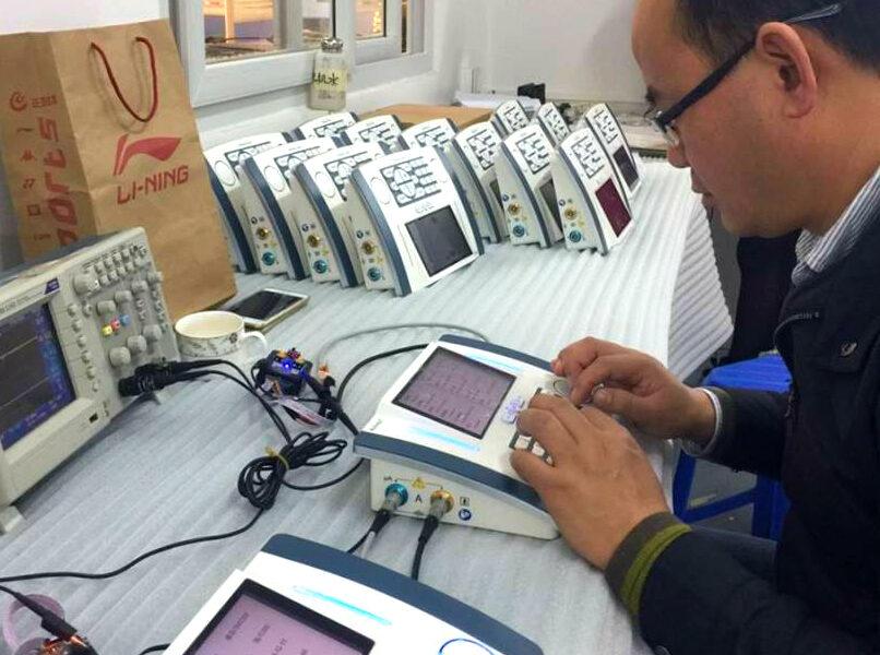 small batch electronics QC